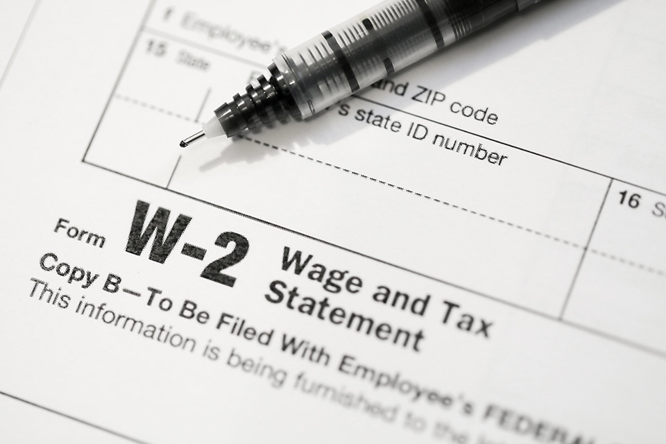 What to Do About a Lost W-2?